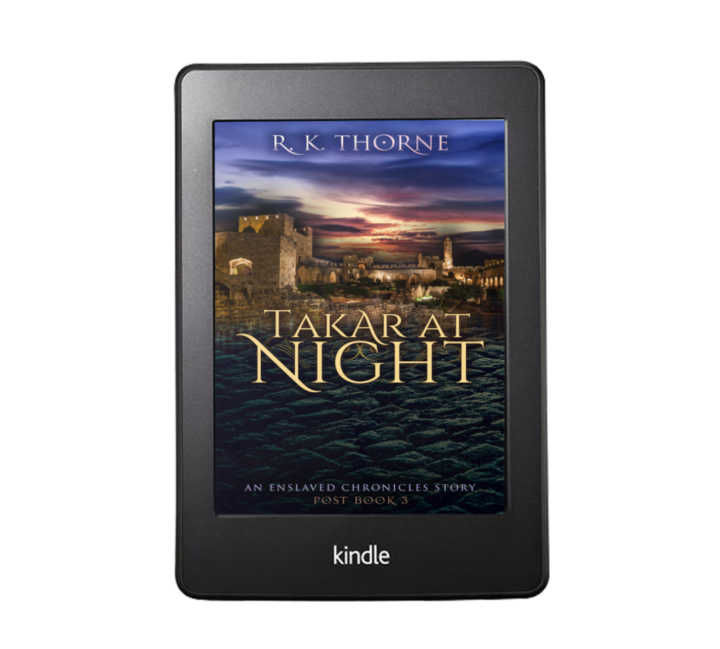 Preview image of the cover of the free epic fantasy short story Takar at Night