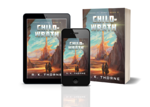 Child of Wrath Preview on Phone, Tablet, and Paperback versions