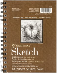 Brown Strathmore Sketchbook